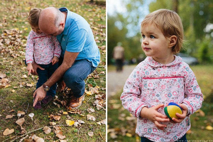 photographe, séance photo, parc, famille, automne
