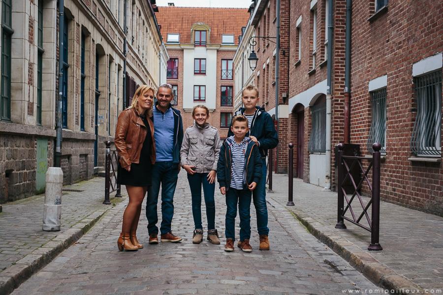 séance photo, famille, vieux-lille
